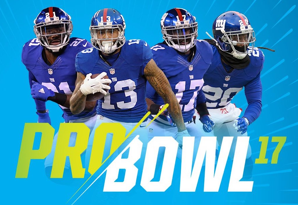 Four New York Giants selected to 2016 NFL Pro Bowl | Odell Beckham Jr
