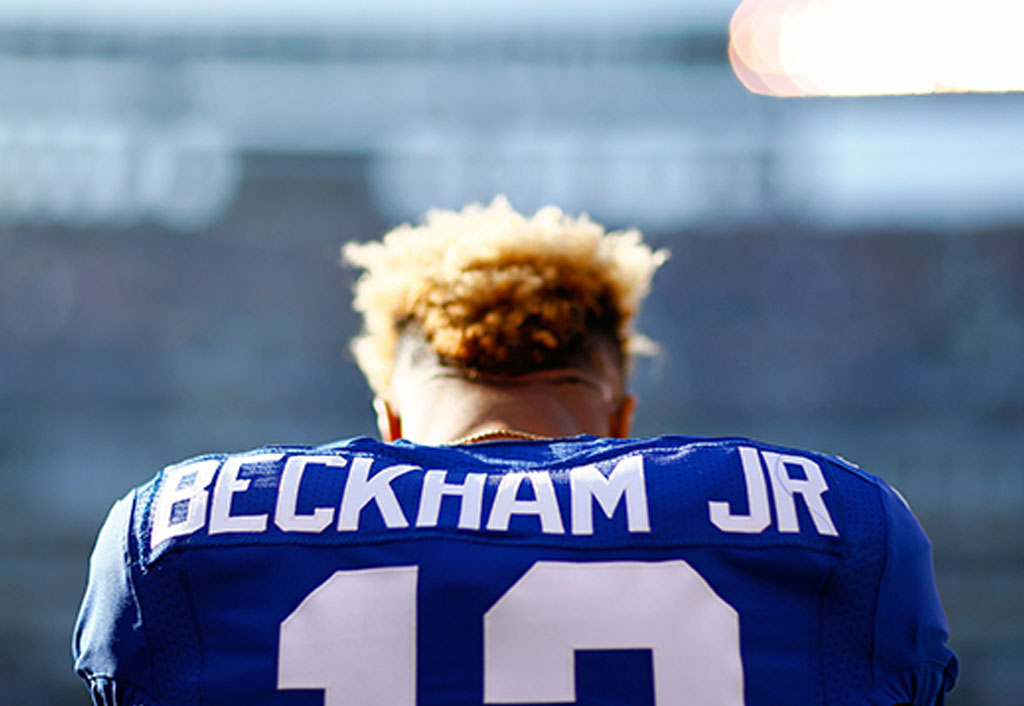 Odell Beckham Jr. and the Giants' kicking net appear to be friends again | Odell Beckham Jr