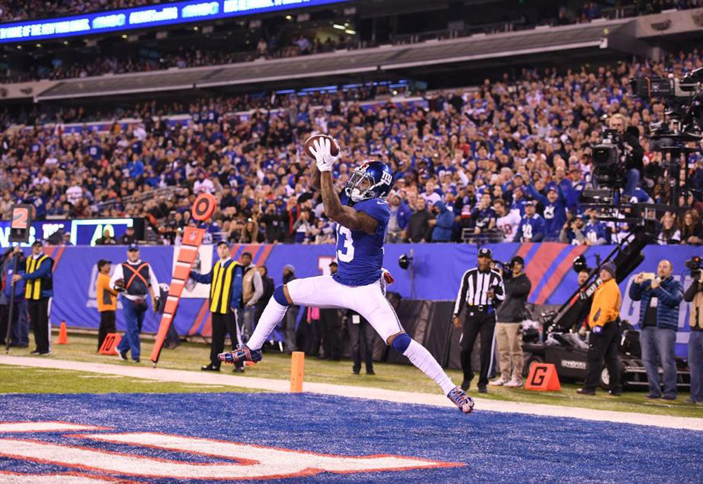 Giants' Odell Beckham Jr. fastest to 3,500 receiving yards | Odell Beckham Jr