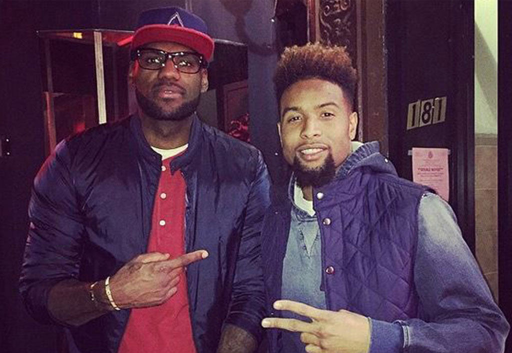 Cavaliers' LeBron James has Giants' Odell Beckham's back | Odell Beckham Jr