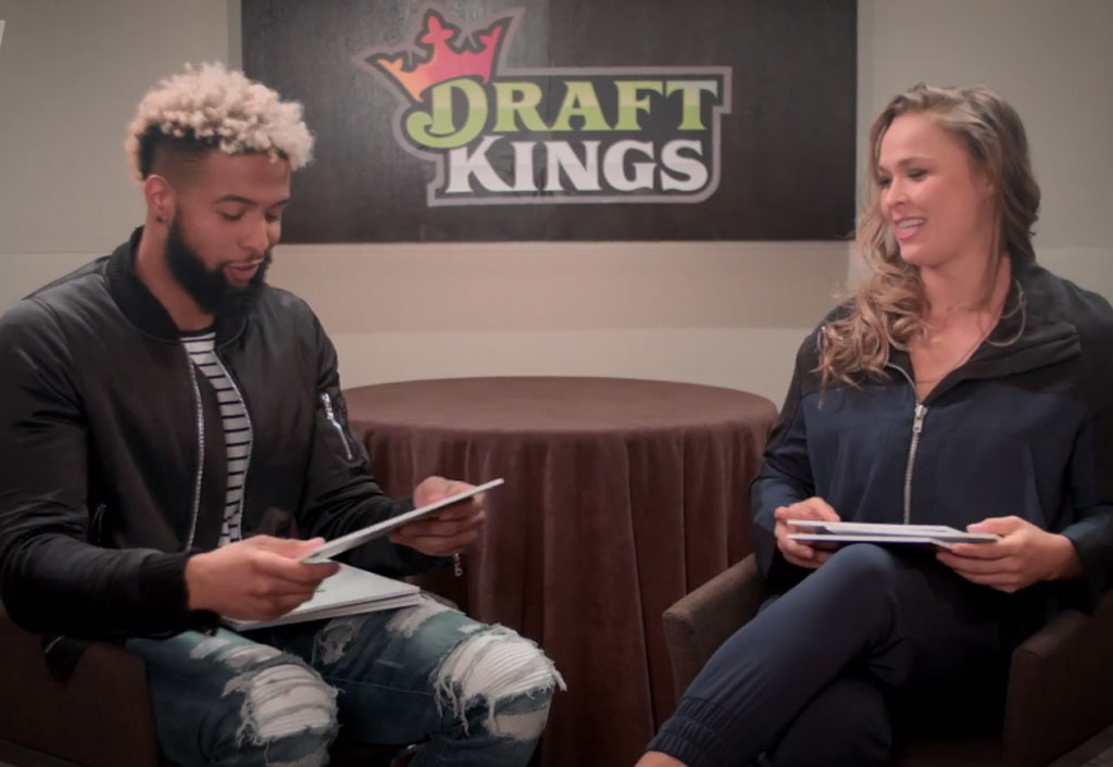 FACE 2 FACE WITH RONDA AND ODELL - PICTURE THIS | Odell Beckham Jr