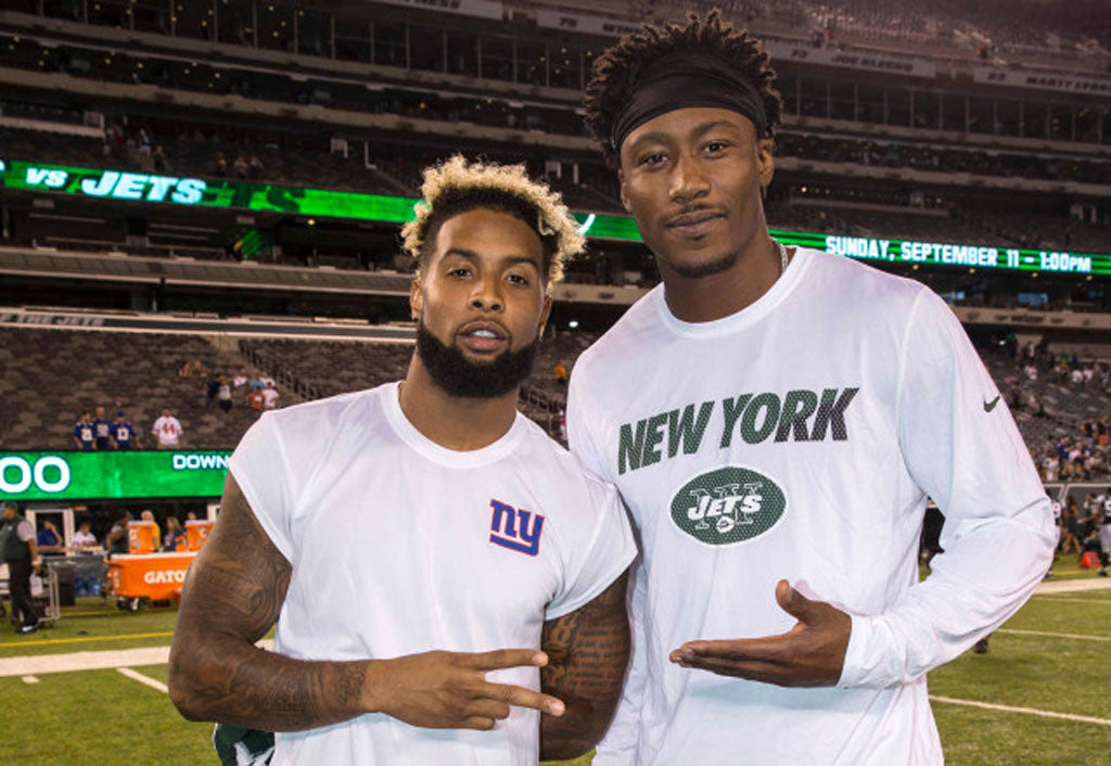Brandon Marshall calls Odell Beckham Jr. the biggest superstar 'in the history of football' | Odell Beckham Jr