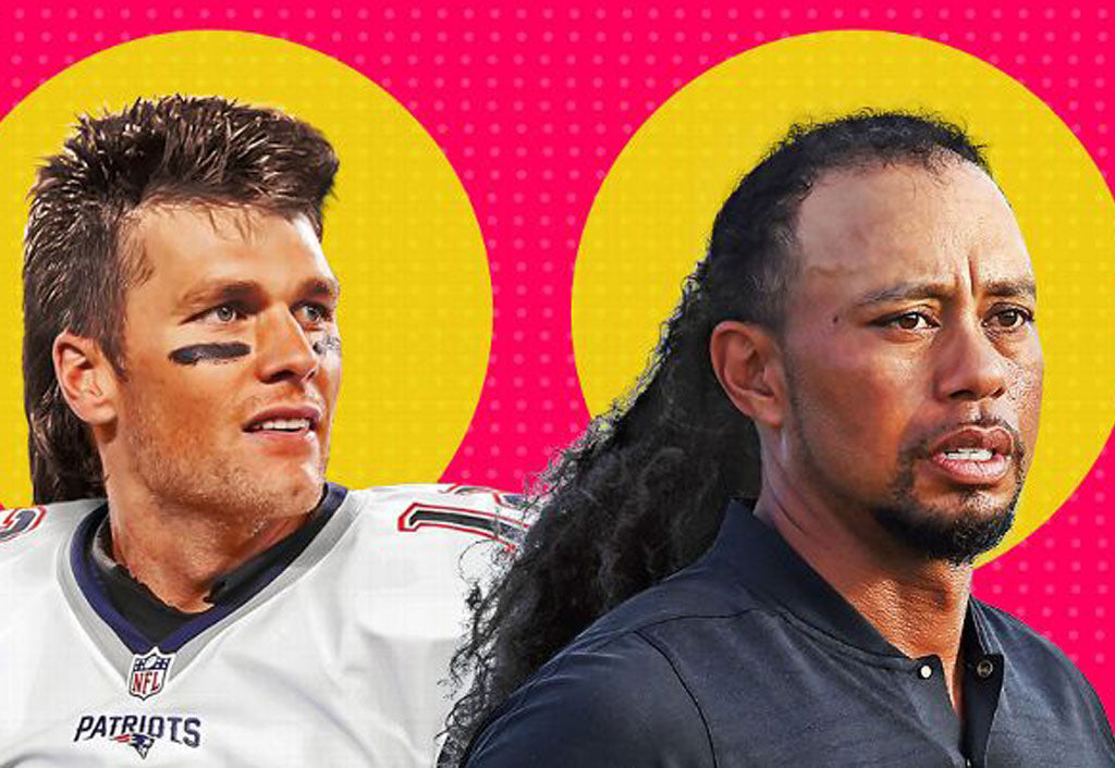 Mullet makeover: What LeBron James, Tom Brady and Tiger Woods would look like with Jaromir Jagr hair | Odell Beckham Jr
