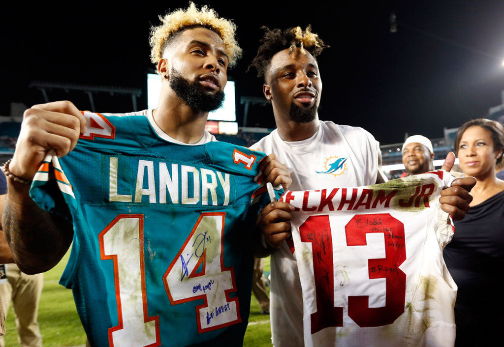 Odell Beckham Jr., Jarvis Landry exchange tips on common opponents | Odell Beckham Jr