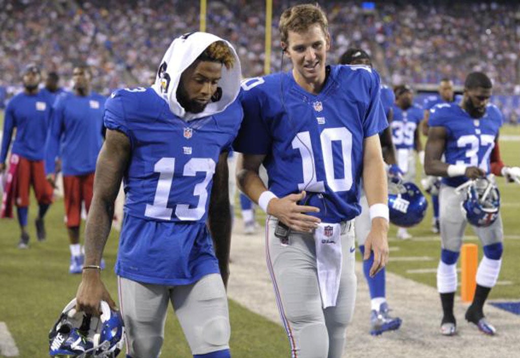 Eli on OBJ: He wants to be great | Odell Beckham Jr