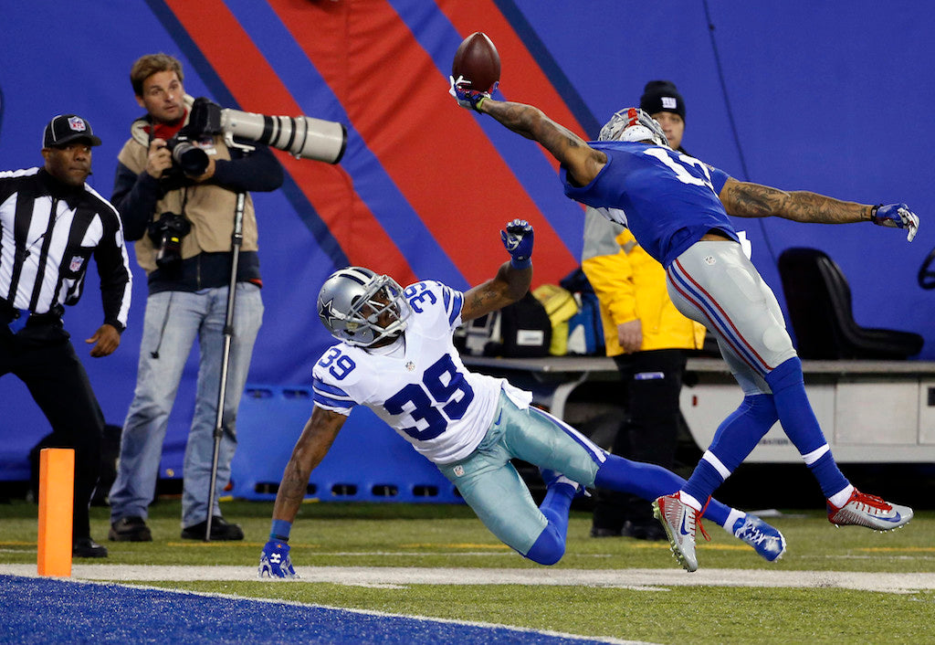 Odell Beckham Jr. says one-handed catch against Cowboys 'changed my life forever' | Odell Beckham Jr