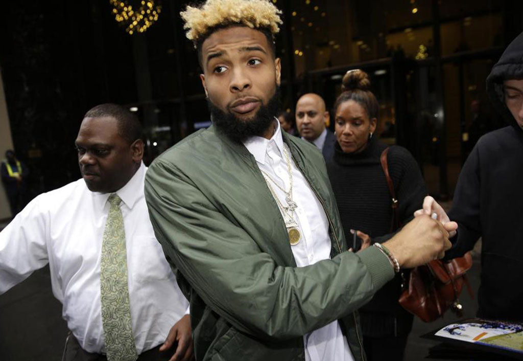 Will It Be OK to Wear Trackpants to Walk Down the Aisle? | Odell Beckham Jr