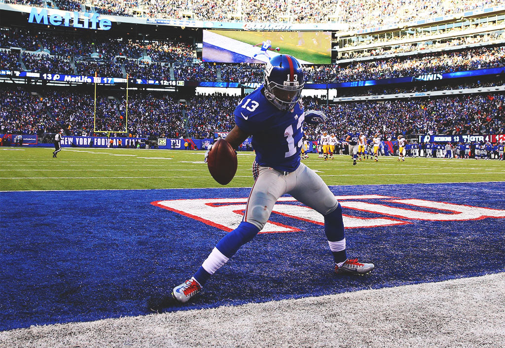 Eli Manning aims for more spectacular TD passes to Odell Beckham Jr. in 2015 | Odell Beckham Jr