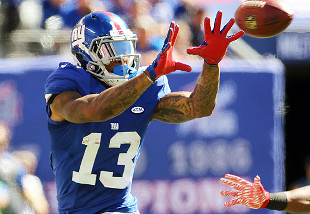 Top 5 WRs entering the 2017 season | Odell Beckham Jr