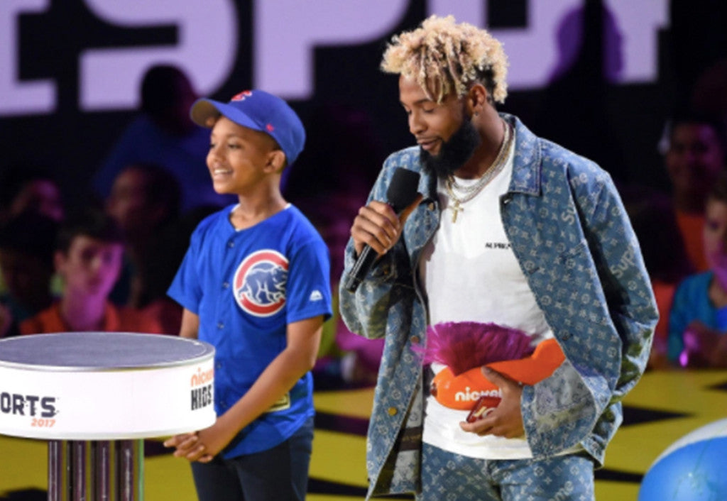 Odell Beckham Takes Home His Third Kids Choice Award | Odell Beckham Jr