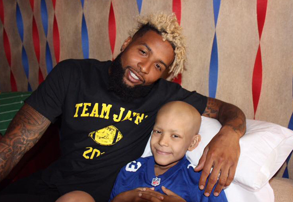 Odell Beckham Jr. makes special trip to visit sick Texas boy | Odell Beckham Jr