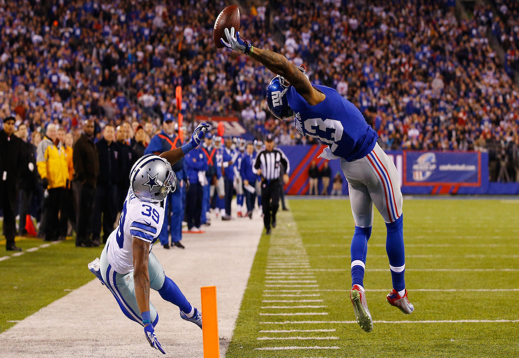 Two years ago today: Odell Beckham Jr. makes greatest catch of all-time   Odell Beckham Jr