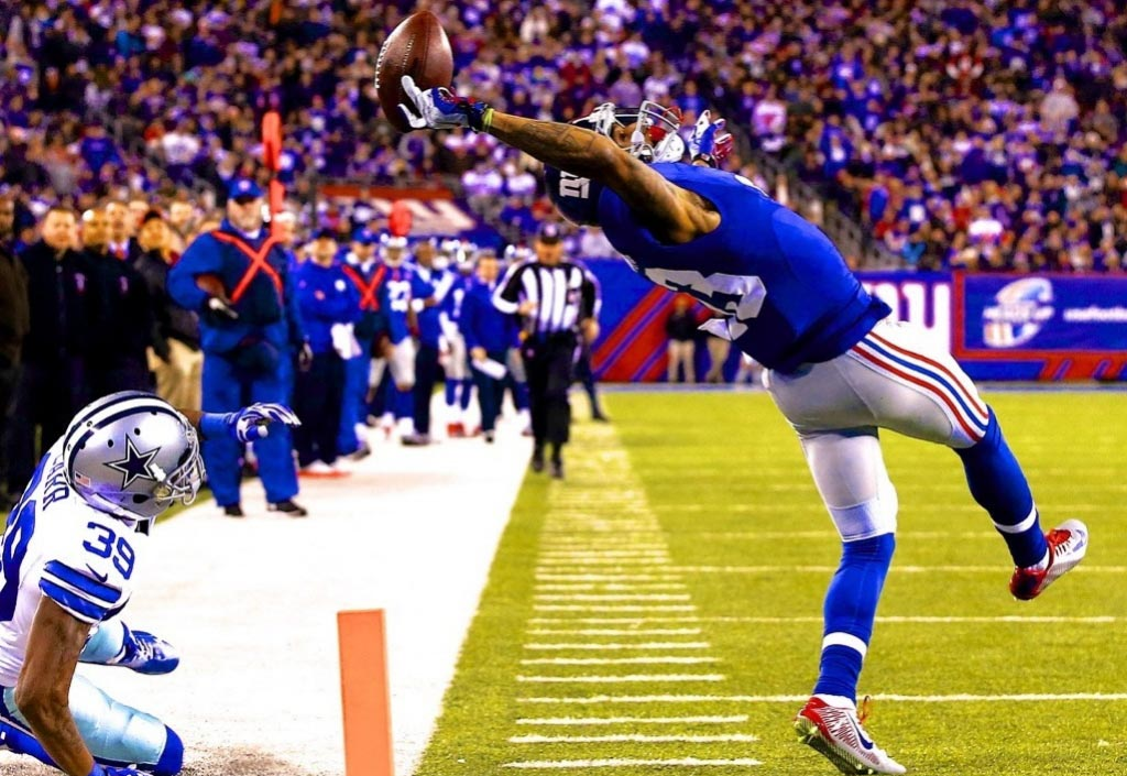 The Top 10 Iconic NFL Moments in the Past 5 Years | Odell Beckham Jr