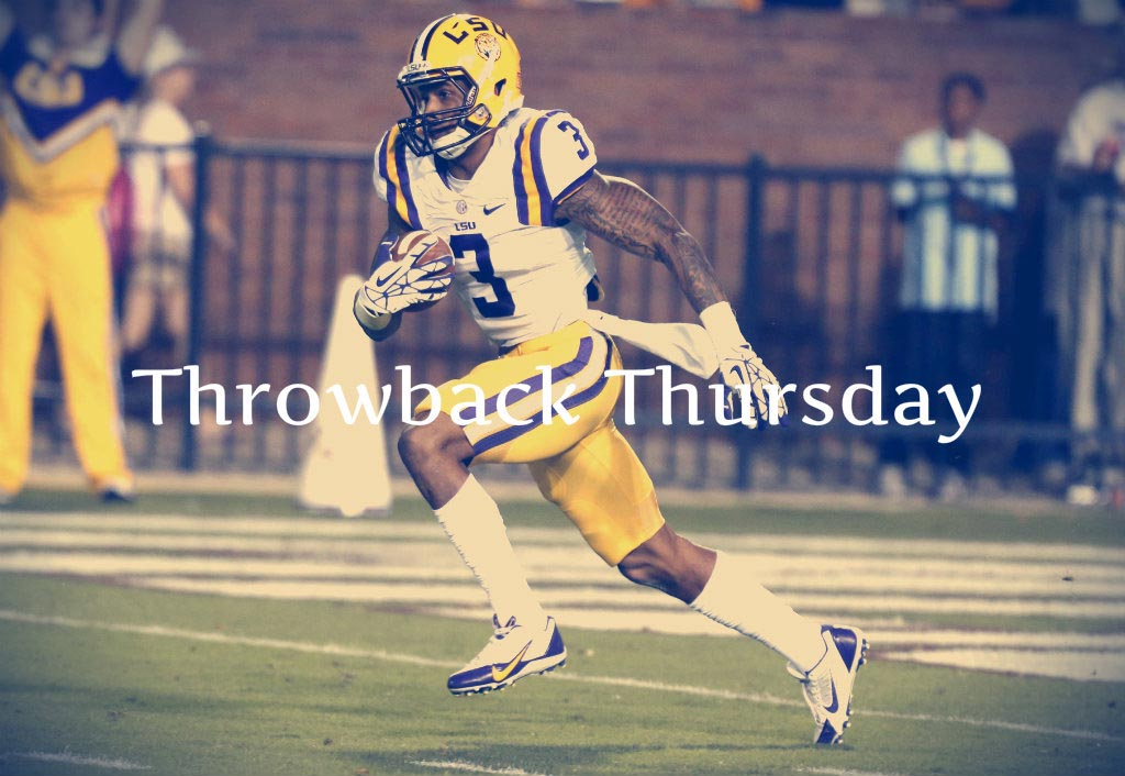 Throwback Thursday 07.31.14 | Odell Beckham Jr
