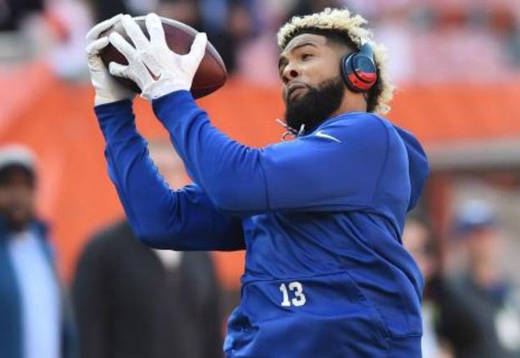 Check out Odell Beckham Jr.'s custom Pro Bowl cleats | Odell Beckham Jr
