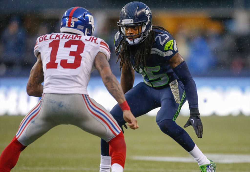 OBJ Shares Message With Sherman | Richard Sherman