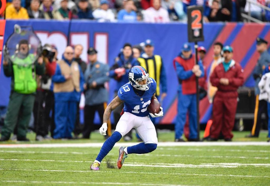 Odell Beckham Jr. joins elite company during Giants' Week 15 win | Odell Beckham Jr