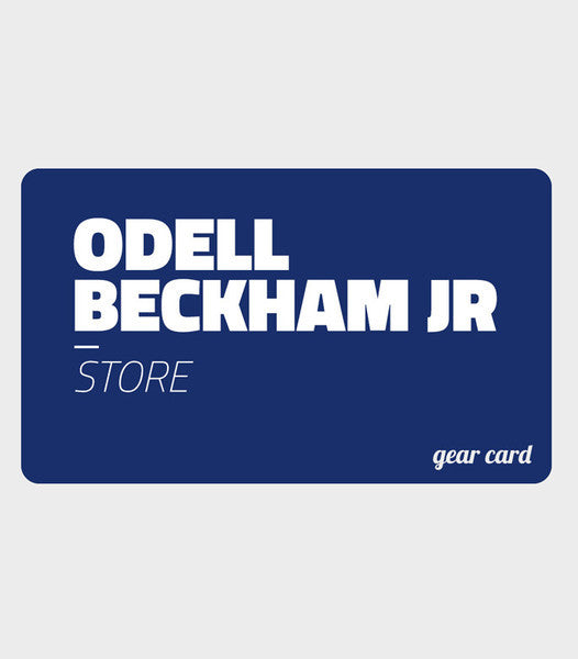 OBJ Gear Gift Card | Odell Beckham Jr Gear