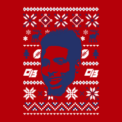 OBJ Holiday Sweater | Odell Beckham Jr