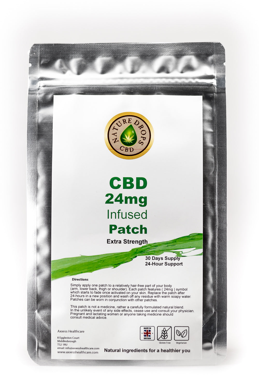 CBD PATCH 24mg - Extra Strength, Vitamins & Supplements - Image 1