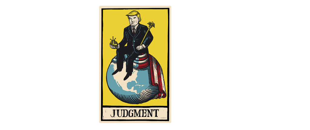 Mug Trump Judgment Tarot Card The Economist Store