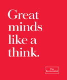 Tote bag: Great minds like a think. (Black-100% Cotton)