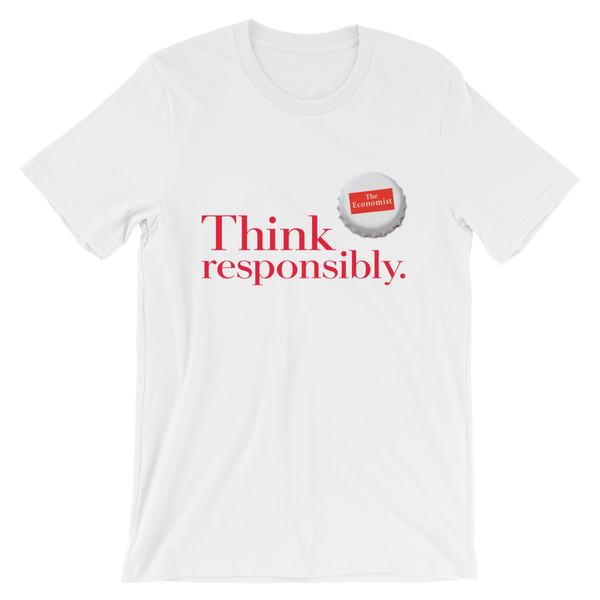 Men's T-Shirt: Think Responsibly