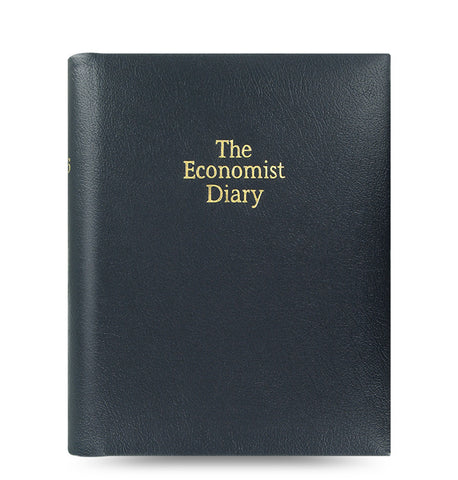 The Economist 2019 Desk Diary - Black