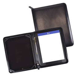 Aristo Leather Zippered iPad Writing Portfolio
