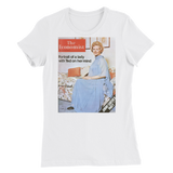 Women's T-Shirt: Portrait of a lady with Ted on her mind