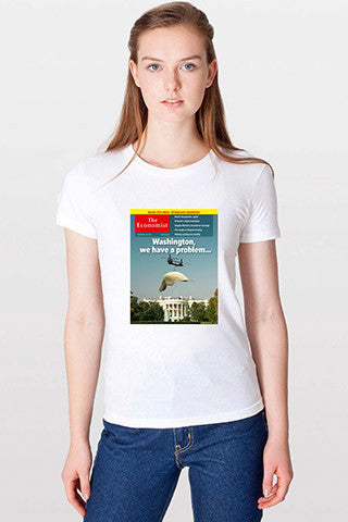 Women's T-Shirt: Washington, we have a problem...