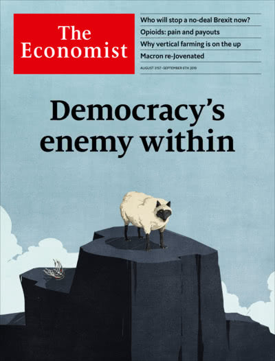 The Economist in Print OR Audio: August 31st 2019