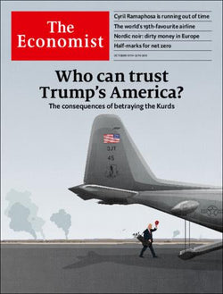 The Economist in Print OR Audio: October 19th 2019