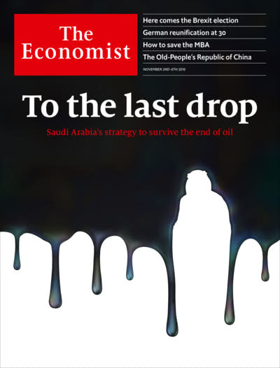 The Economist in Print OR Audio: November 2nd 2019