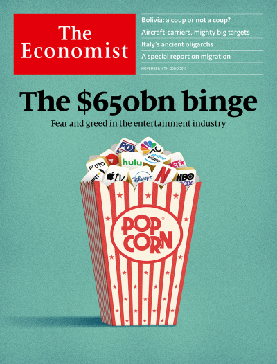 The Economist in Print OR Audio: November 16th 2019
