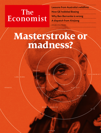 The Economist in Print OR Audio: January 11th, 2020