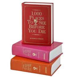 1000 Places to See Before You Die - Brights Leather Bound
