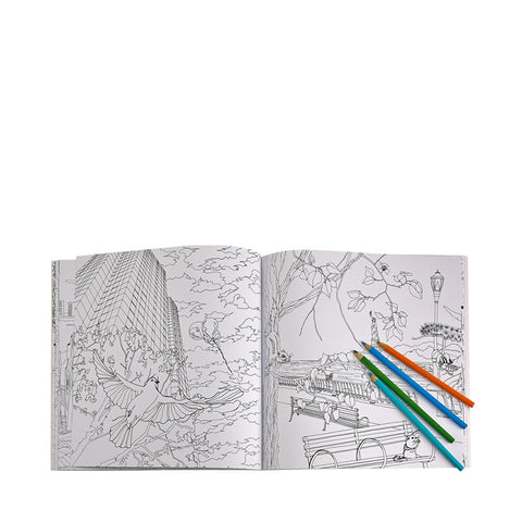 Wildlife Of New York Adult Coloring Book The Economist Store