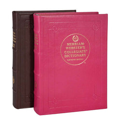 Leather Bound Desk Dictionary - Brights Leather