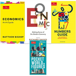 The Economist Economics Four Book bundle