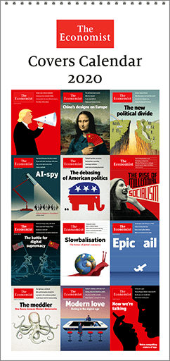 The Economist Covers Calendar 2020