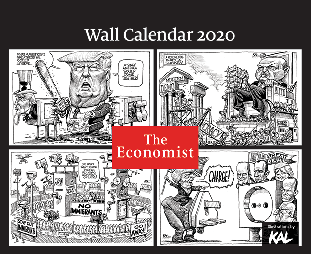 The Economist Wall KALendar 2020