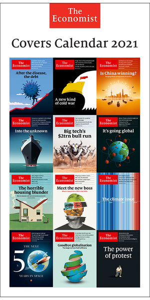 The Economist Covers Calendar 2021