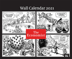 The Economist Wall KALendar 2021