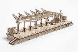 3D Mechanical Puzzle Railway Platform