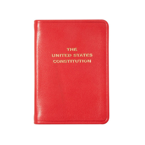 Mini Leather-Bound United States Constitution