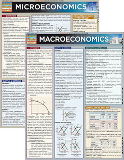 Economics Laminated Reference Guide Bundle (Micro/Macro)