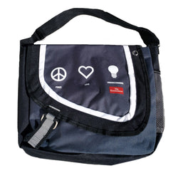 Peace, Love, Understanding Messenger Bag