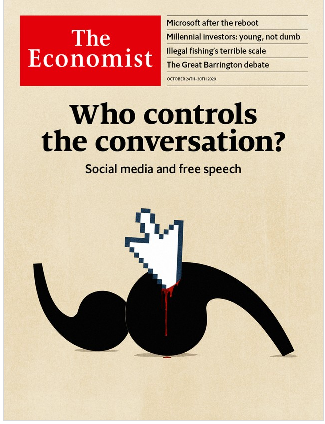 The Economist in Print OR Audio: October 24th, 2020