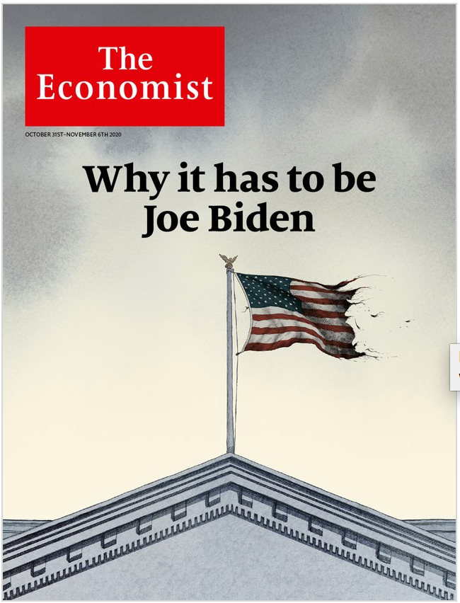 The Economist in Print OR Audio: October 31st, 2020